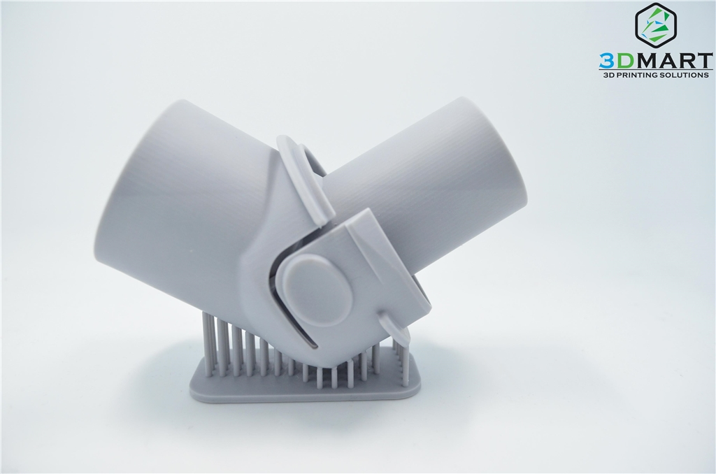 DWS XFAB光固化3D列印機 水管側面