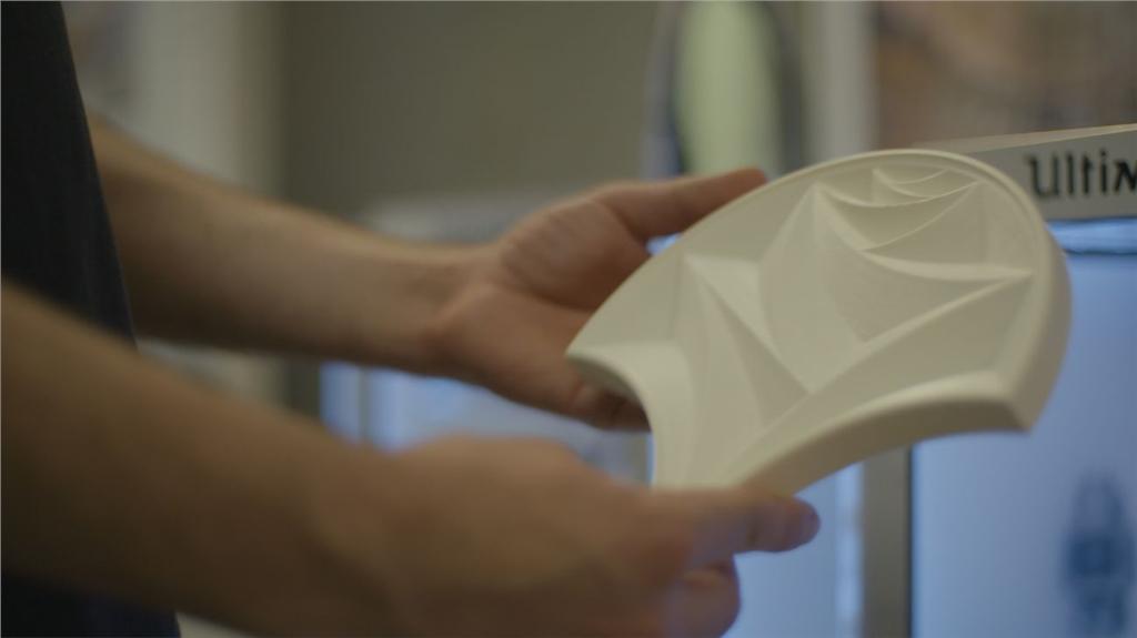 Ilona Rose Hous的3D列印瓦片