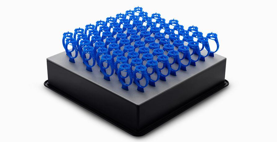 一次列印多樣精細物件,使用SLA較適合