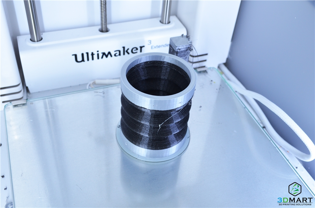 Ultimaker 3 Extended的軟硬材料新組合TPU-PLA