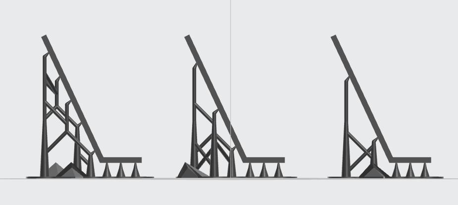 formlabs form2 preform切片軟體教學 進階支撐設定 斜率乘數 slope multiplier