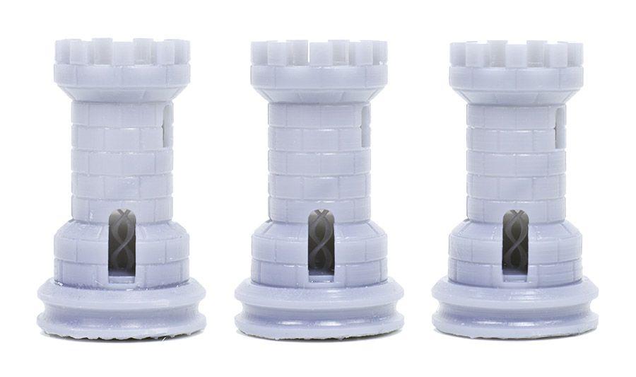 formlabs form2 preform切片軟體教學 層厚設定 層厚與列印品質 層厚比較