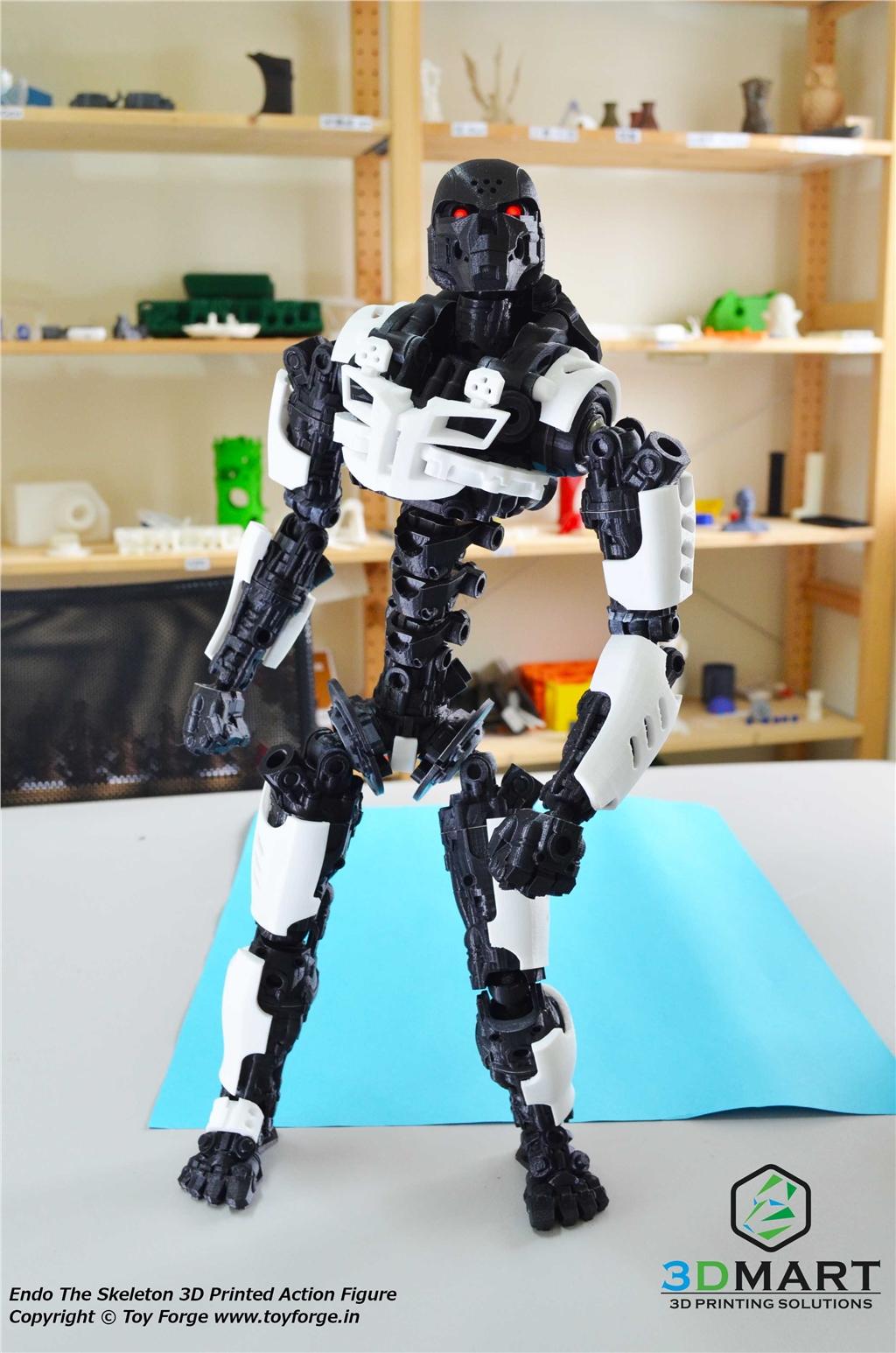 3D列印 骷髏機器人 ENDO 全身可動 可更換裝甲 3D印表機 Ultimaker2+