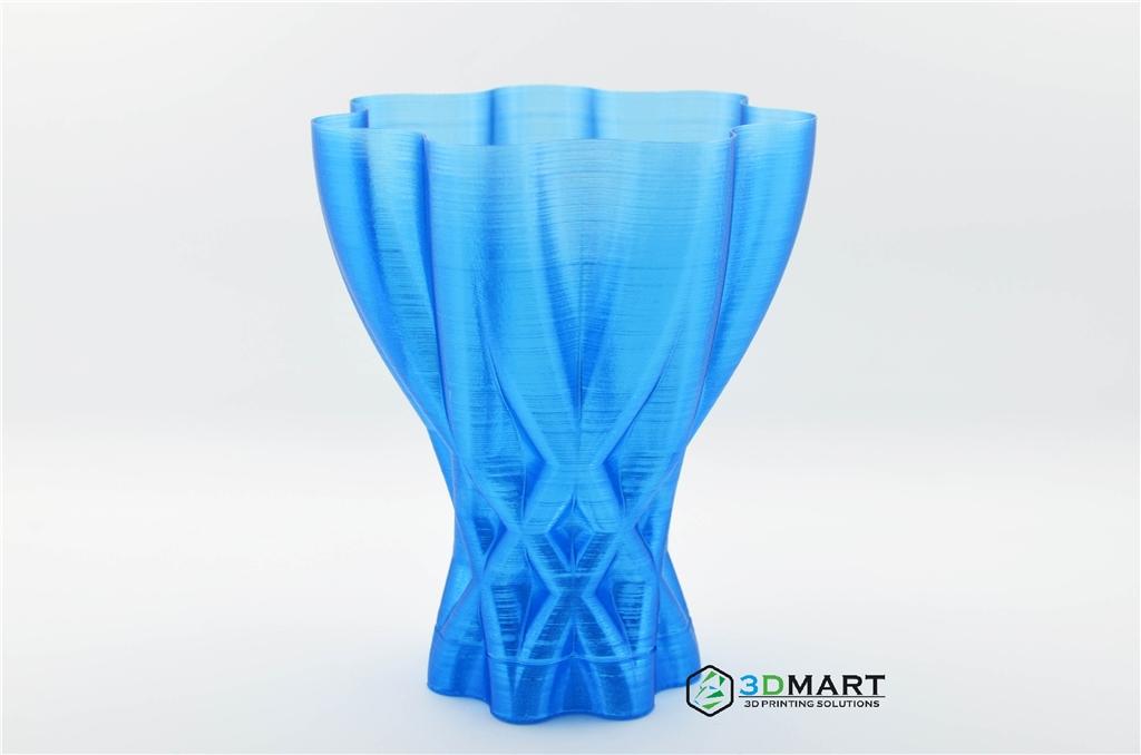 ultimaker 2  3D printer   FDM FFF 3D列印機 3D印表機   3D列印  Taulman3D  pet  透明  t-glase  blue