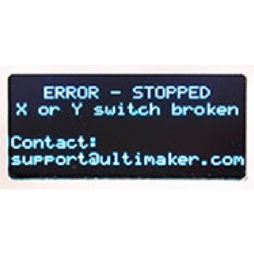 X or Y Switch broken