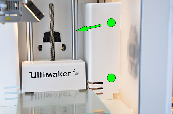 ultimaker , 3D printer, FDM, FFF, 3D列印機, 3D印表機, Leaning, 物件歪斜, 金屬板
