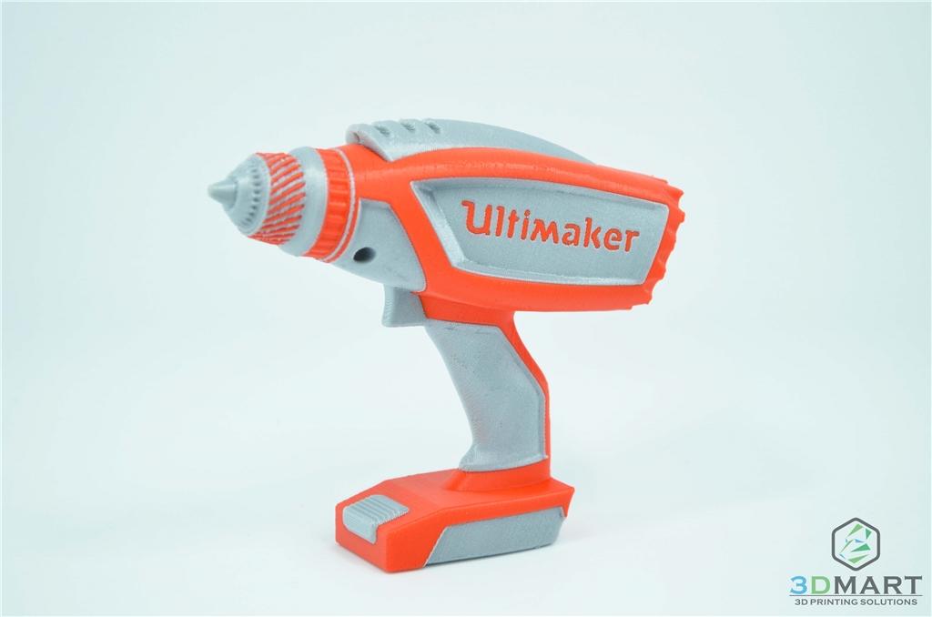 3DMART Ultimaker3 雙噴頭 3D列印機 雙色列印  電鑽 成品